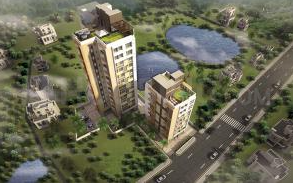 Gallery Cover Image of 1367 Sq.ft 3 BHK Apartment for buy in Daffodil Waterfront, Behala for 5604700
