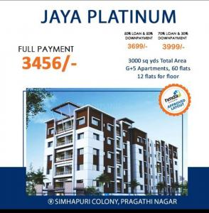 Gallery Cover Image of 1200 Sq.ft 2 BHK Apartment for buy in Kukatpally for 4200000