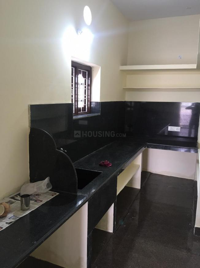 Kitchen Image of 1000 Sq.ft 1 BHK Independent House for rent in Chengicherla for 7500