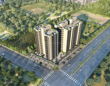 Gallery Cover Image of 850 Sq.ft 2 BHK Apartment for buy in Aashray Atulyam, Bopal for 4516300
