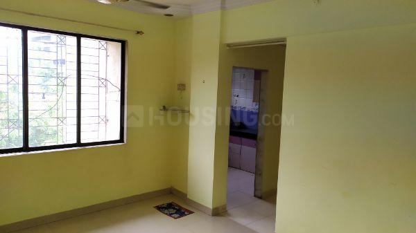 Living Room Image of 600 Sq.ft 1 BHK Apartment for rent in Thane West for 22500