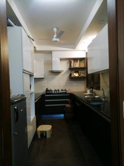Kitchen Image of 1800 Sq.ft 3 BHK Independent Floor for buy in The Pamposh, Greater Kailash for 30000000