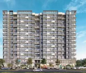 Gallery Cover Image of 950 Sq.ft 2 BHK Apartment for buy in Unimont Imperia, Yashwant Nagar for 4200000