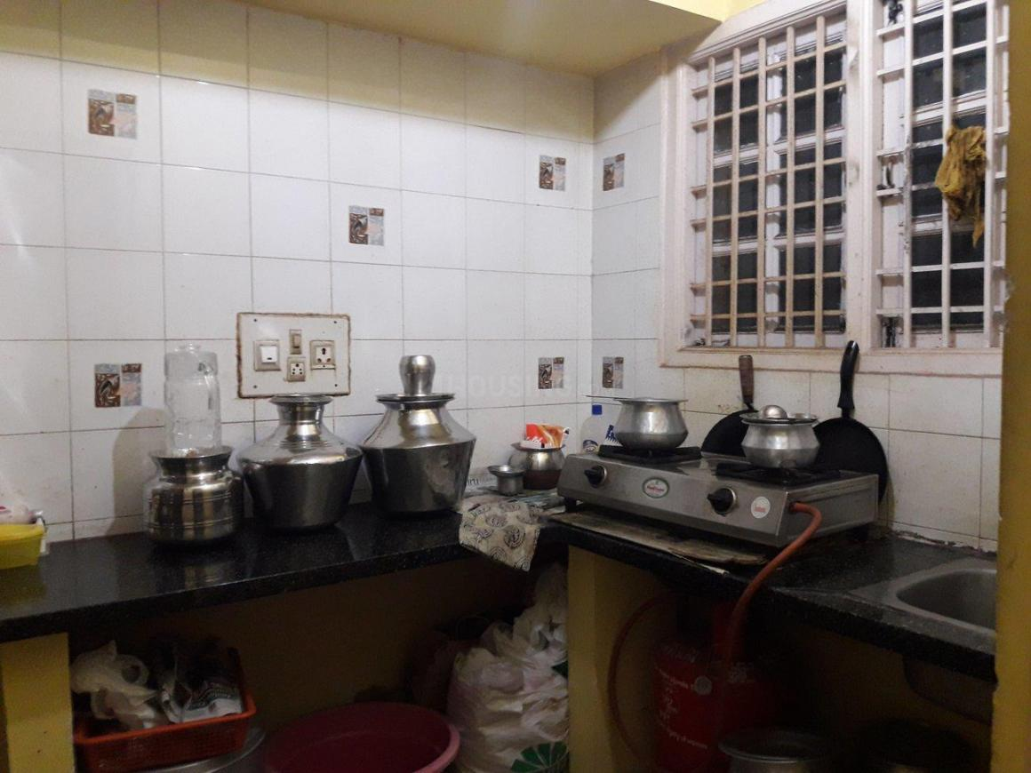 Kitchen Image of 550 Sq.ft 1 BHK Independent Floor for rent in Kamala Nagar for 12000