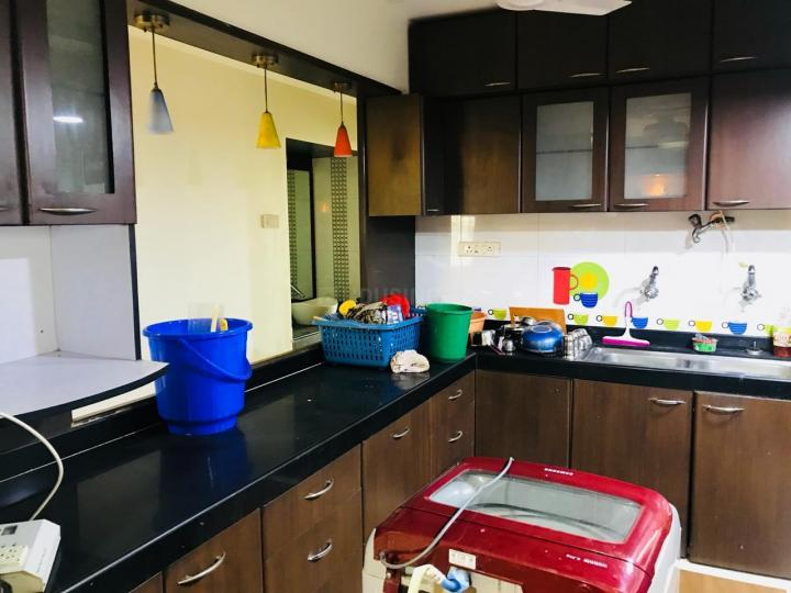 Kitchen Image of 1095 Sq.ft 2 BHK Apartment for rent in Kharghar for 24000