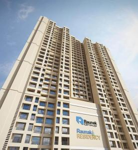 Gallery Cover Image of 640 Sq.ft 1 BHK Apartment for buy in Raunak Residency, Thane West for 6058900