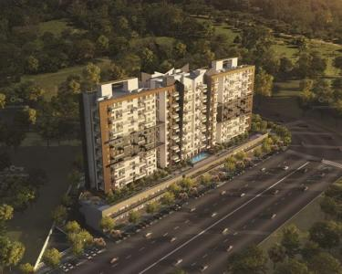 Gallery Cover Image of 1300 Sq.ft 3 BHK Apartment for buy in Kohinoor Grandeur, Ravet for 8500000