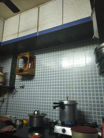 Kitchen Image of 470 Sq.ft 1 BHK Independent House for rent in Bhayandar West for 15000