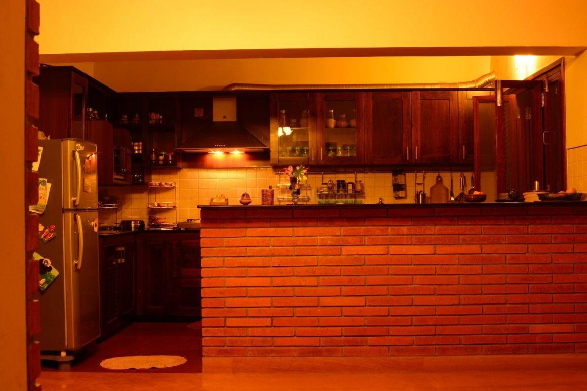 Kitchen Image of 1656 Sq.ft 3 BHK Apartment for rent in Singasandra for 37000