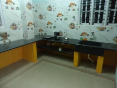 Kitchen Image of Global Village PG in Kodipur