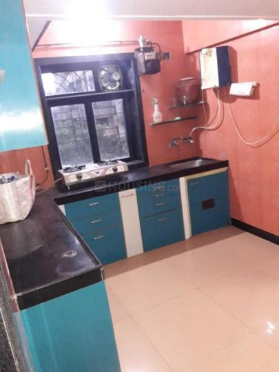 Kitchen Image of 1000 Sq.ft 2 BHK Apartment for rent in Thane West for 28000