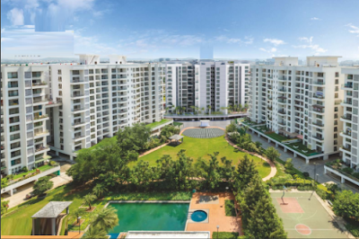 Gallery Cover Image of 1000 Sq.ft 2 BHK Apartment for buy in Pride Purple Park Turquoise, Wakad for 10000000