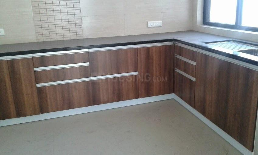 Kitchen Image of 1700 Sq.ft 3 BHK Apartment for rent in Mohammed Wadi for 19000