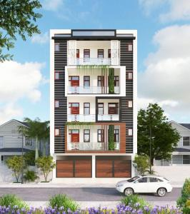 Gallery Cover Image of 950 Sq.ft 2 BHK Apartment for buy in Sector 4 for 4200000