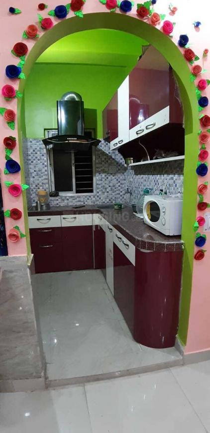 Kitchen Image of 790 Sq.ft 1 BHK Apartment for rent in Keshtopur for 8000