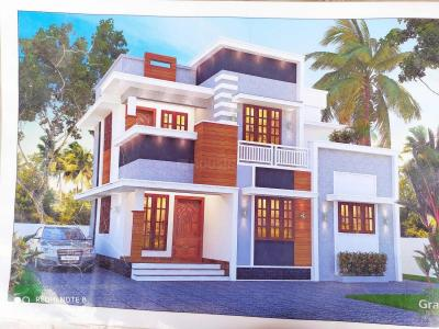 Gallery Cover Image of 1300 Sq.ft 3 BHK Independent House for buy in North Paravoor for 4800000