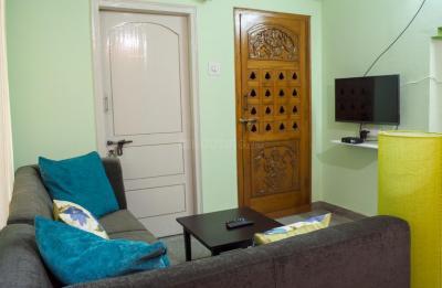 Living Room Image of Girls PG in Basaveshwara Nagar