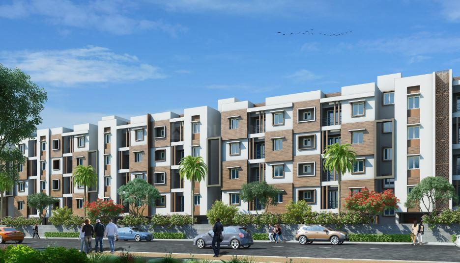 Building Image of 750 Sq.ft 2 BHK Apartment for buy in Anna Nagar West for 9750000