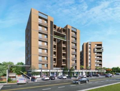 Gallery Cover Image of 1314 Sq.ft 2 BHK Apartment for buy in MBA Om Sky, Science City for 7300000