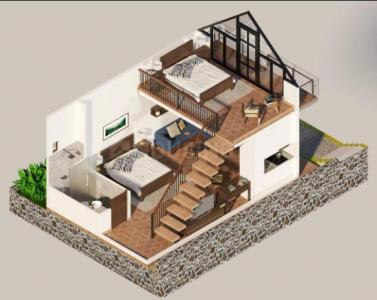 Gallery Cover Image of 800 Sq.ft 2 BHK Villa for buy in Lovedale for 4000000