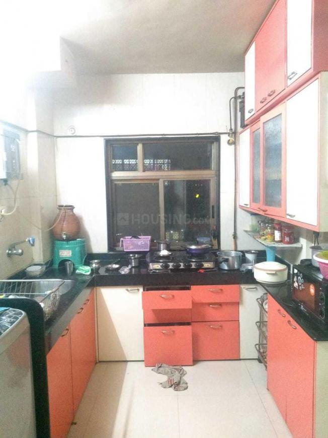 Kitchen Image of 620 Sq.ft 1 BHK Apartment for rent in Mulund East for 20000