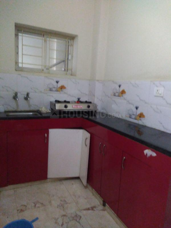 Kitchen Image of 480 Sq.ft 1 BHK Apartment for rent in Puppalaguda for 13500