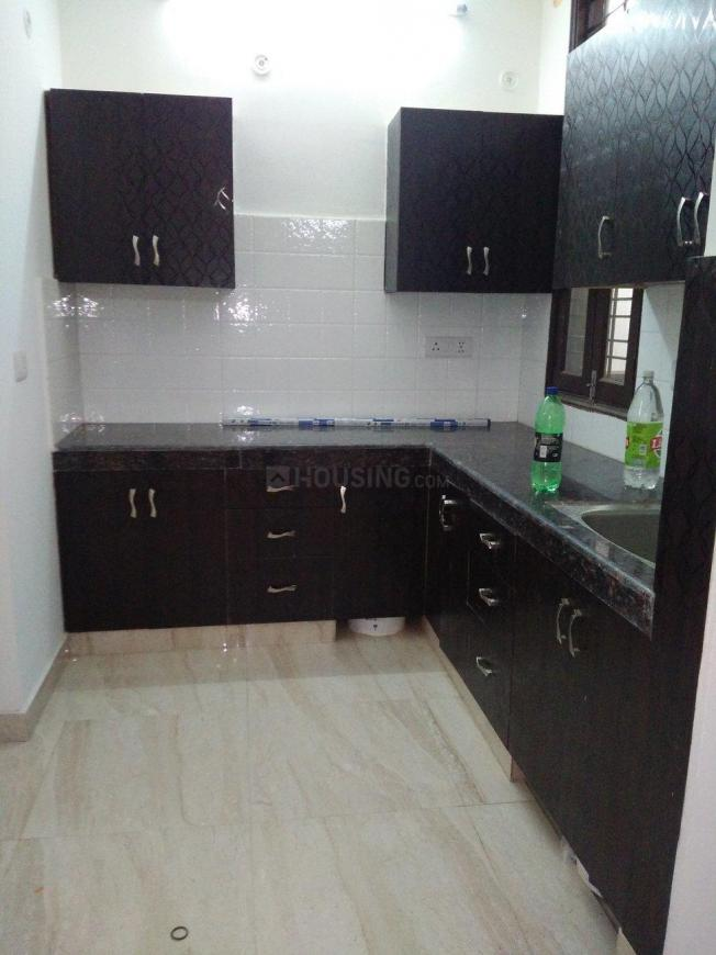 Kitchen Image of 560 Sq.ft 1 BHK Independent Floor for buy in Noida Extension for 1475000