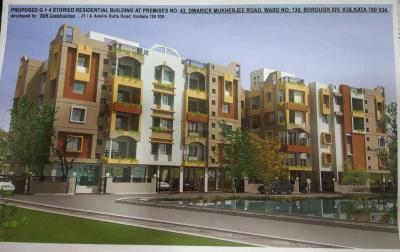 Gallery Cover Image of 1136 Sq.ft 3 BHK Apartment for buy in Royal Residency, Behala for 5112000