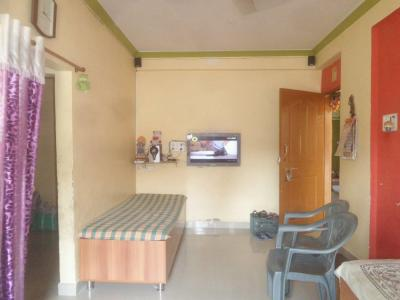 Living Room Image of 650 Sq.ft 1 BHK Apartment for buy in Vasai West for 3700000