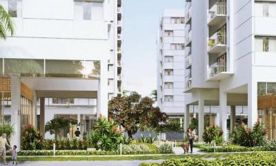 Gallery Cover Image of 828 Sq.ft 1 BHK Apartment for buy in Assetz Marq 2, Kannamangala for 6028000