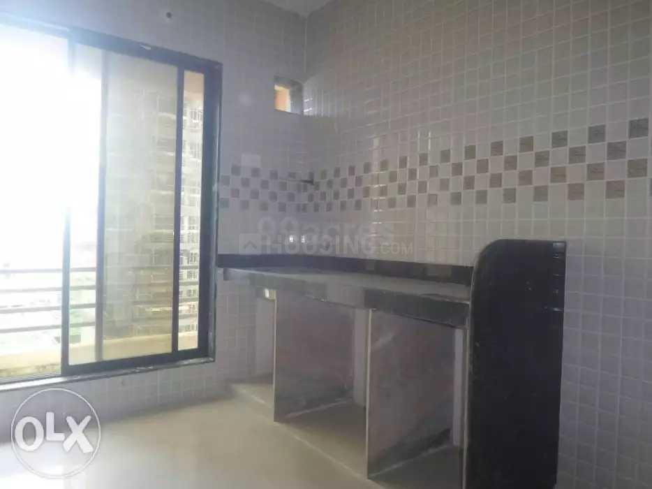 Kitchen Image of 700 Sq.ft 1 BHK Apartment for rent in Taloje for 5000