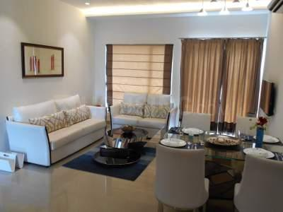 Hall Image of 1529 Sq.ft 3 BHK Apartment for buy in Elita Garden Vista Phase 2, New Town for 8614500