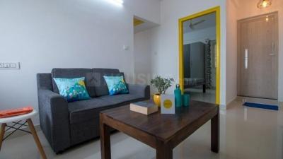 Gallery Cover Image of 600 Sq.ft 1 BHK Apartment for rent in Krishnarajapura for 15000