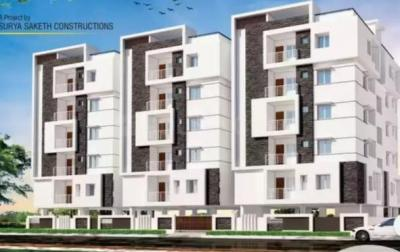 Gallery Cover Image of 1220 Sq.ft 2 BHK Apartment for buy in Nizampet for 4700000
