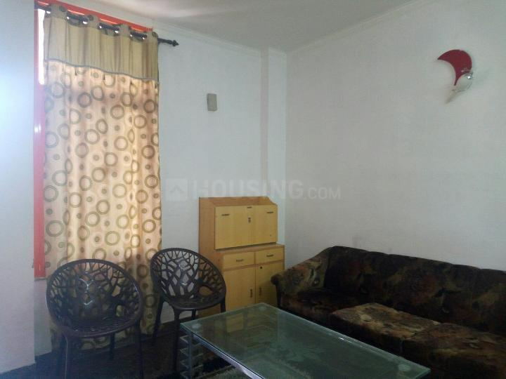 Living Room Image of 570 Sq.ft 1 BHK Independent Floor for rent in Sector 56 for 16500