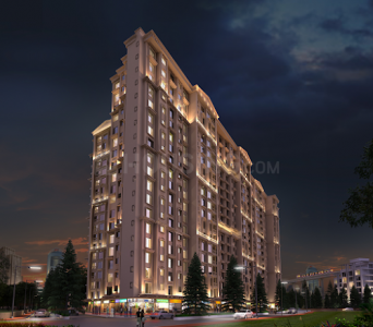 Gallery Cover Image of 664 Sq.ft 1 BHK Apartment for buy in Town Swaroop Marvel Gold, Bhandup West for 7900000