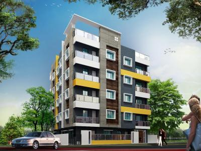 Gallery Cover Image of 674 Sq.ft 2 BHK Independent Floor for buy in Sodepur for 2022000