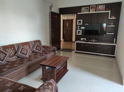 Living Room Image of 1296 Sq.ft 2 BHK Apartment for buy in Khodiyar Shivalay Gold, Nikol for 4000000