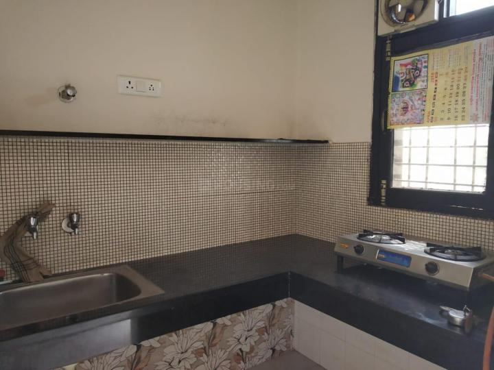 Kitchen Image of 700 Sq.ft 1 BHK Independent House for rent in Sushant Lok I for 23000