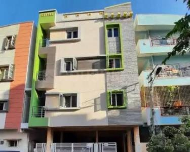 Gallery Cover Image of 550 Sq.ft 1 BHK Independent House for rent in G.R.Residency Apartments, Muneshwara Nagar for 14000
