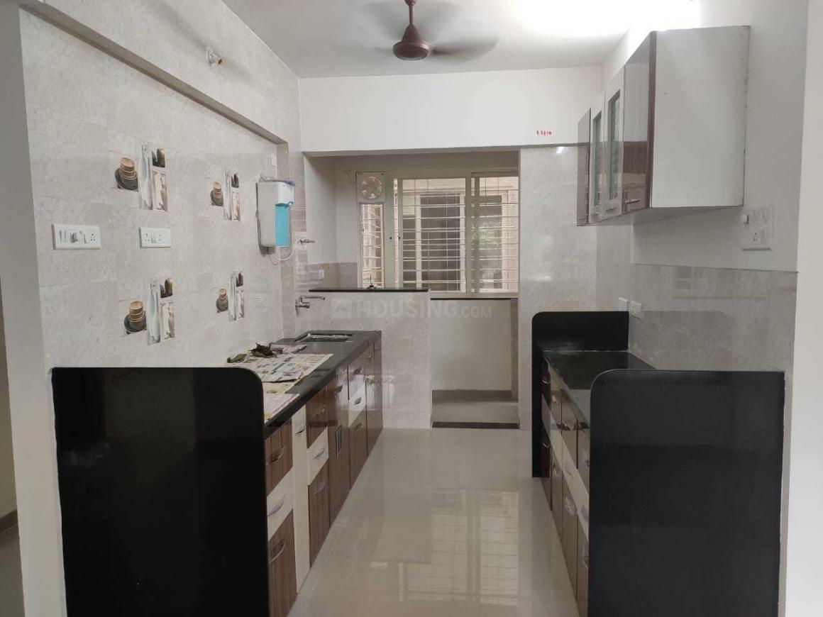 Kitchen Image of 1400 Sq.ft 3 BHK Apartment for rent in Kothrud for 35000