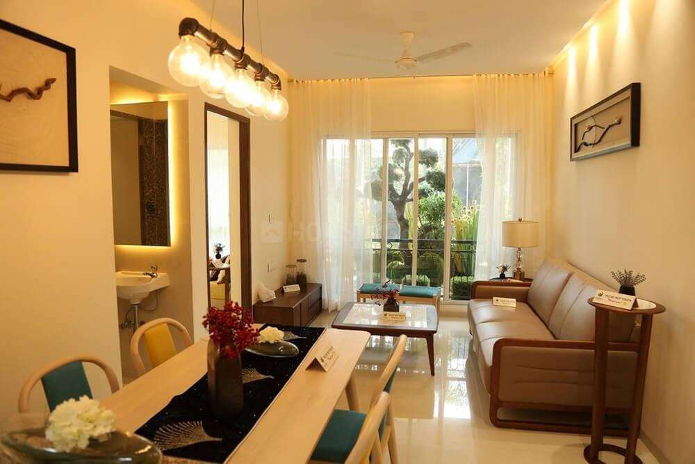 Living Room Image of 643 Sq.ft 2 BHK Apartment for buy in Kalyan West for 4365000