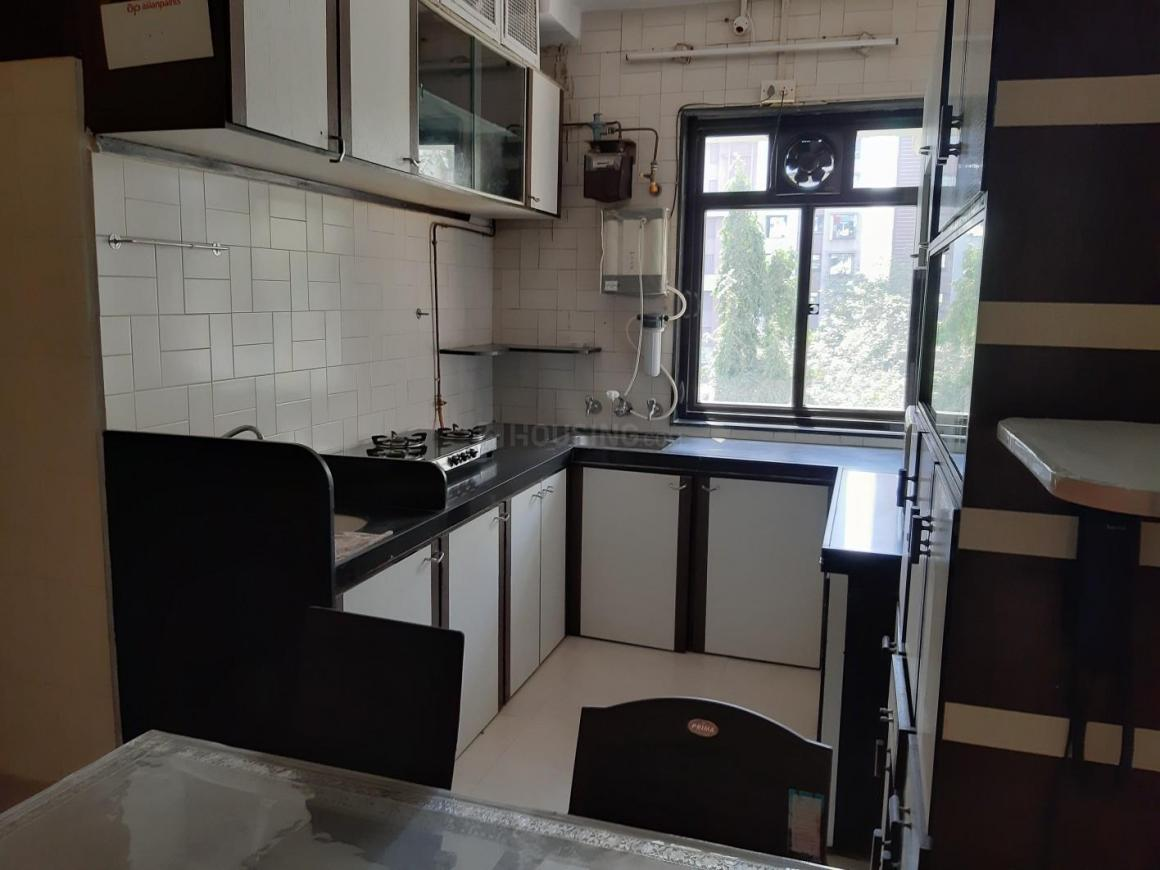 Kitchen Image of 600 Sq.ft 1 BHK Apartment for rent in Malabar Hill for 72000