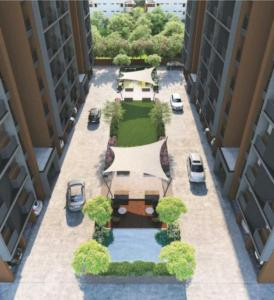 Gallery Cover Image of 1295 Sq.ft 2 BHK Apartment for buy in Milap Shree Sanidhya Flora, Shela for 5200000