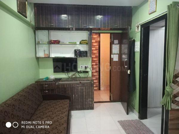 Living Room Image of 325 Sq.ft 1 BHK Apartment for rent in Andheri East for 20000