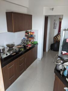 Kitchen Image of 1427 Sq.ft 2 BHK Apartment for rent in Adani Shantigram, Vaishno Devi Circle for 18000