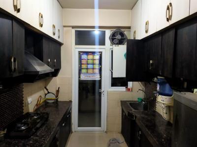 Kitchen Image of Amit PG in Crossings Republik