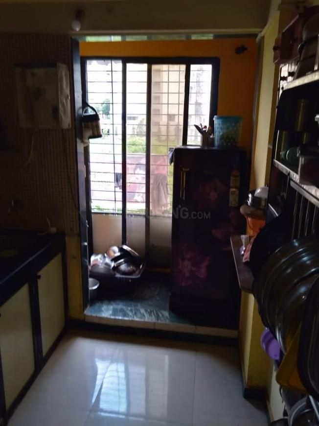 Kitchen Image of 650 Sq.ft 1 BHK Apartment for rent in Ulwe for 7500