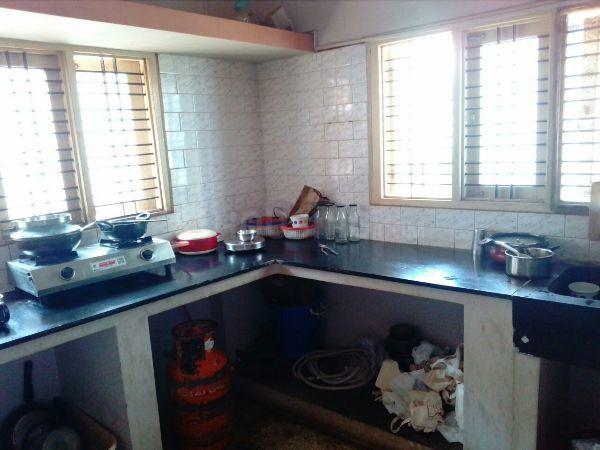 Kitchen Image of 1000 Sq.ft 2 BHK Independent House for rent in New Thippasandra for 30000