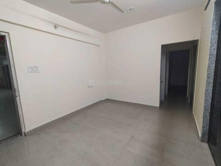 Living Room Image of 600 Sq.ft 1 BHK Apartment for rent in Airoli for 23000